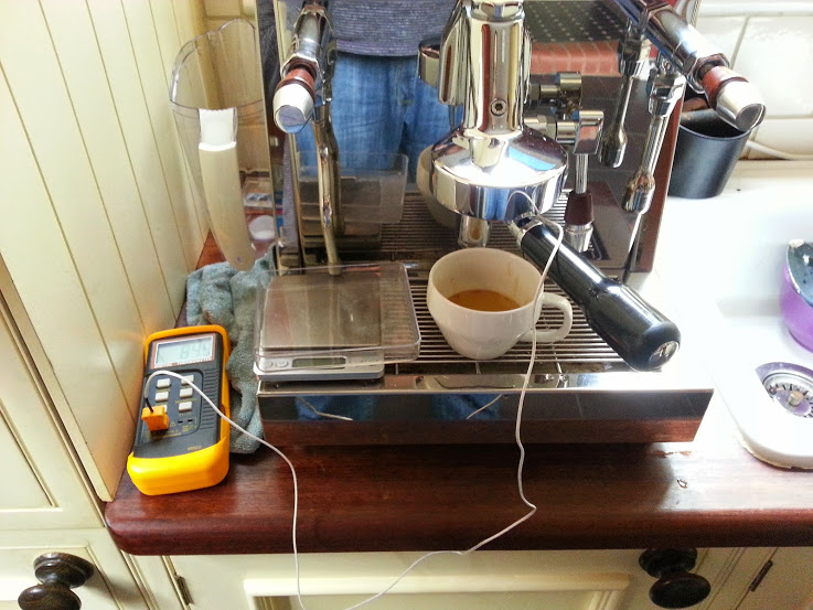 Homemade Espresso Temperature Probe