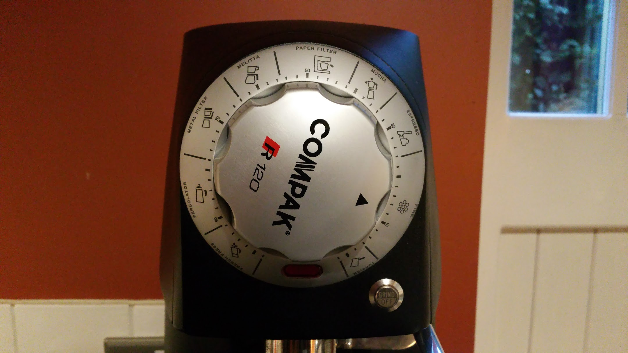 Compak R120 – First Impressions