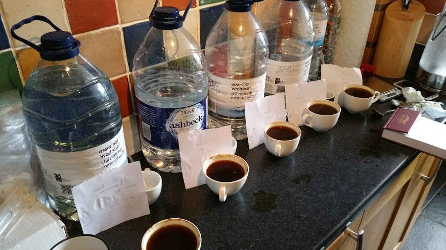 Dissolved Minerals in Water and Their Effect On Coffee